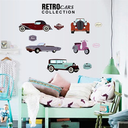 Cartoon Car Decoration Wall Stickers For Kids Rooms Boys Girl Nursery Home  Decor Wallpaper For Kids Baby Room Wall Sticker Car Wall Stickers For Boys  For ...