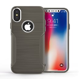Brush electroplating online shopping - Electroplating Button Case For Samsung J5 Pro J7 Pro Hybrid Brushed Armor Case For iphone plus Dual Layer Protective Cover D