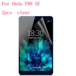 $enCountryForm.capitalKeyWord NZ - Wholesale- Clear Tablet LCD film Screen Protector For Onda V80 SE Reinforced Protection Ultra thin Film 2pcs in 1 package