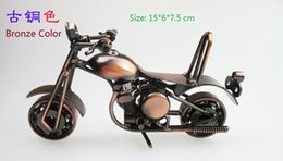 Wholesale Lovely Mini Metal Model Motorcycles Color Iron Motorbike Models Toy Boys Gifts Kids Toys Wheel Can Be Moved