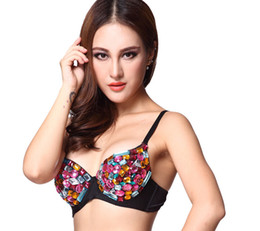 China 2017 Newest Colorful Gems Bra European and American Nightclubs Bar Sexy Jazz Steel Pipes Lead Dancer Costumes Tops DS Stage Wear suppliers