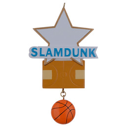 $enCountryForm.capitalKeyWord NZ - Slamdunk Basketball Star Resin Personalized Sports Christmas Ornaments as Handcraft Souvenir For Player or Fans Holiday Gifts