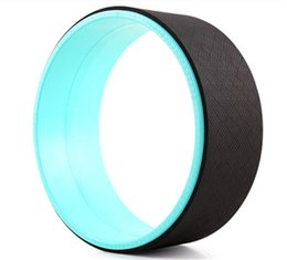 Chinese  Wholesale-FREE SHIPPING Yoga Wheel TPE Pilates Ring Anillo Foam Roller Gym Sport Fitness Equipment 32*13cm Yoga Circles manufacturers