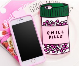 $enCountryForm.capitalKeyWord NZ - 3D Soft Chill Pills Love Potions Silicone case Phone silicon Cover For iphone 7 5 se 6 6s plus S7 note 4