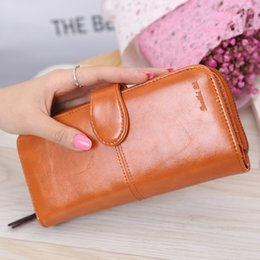 $enCountryForm.capitalKeyWord Canada - New 2017 Women Long Wallets Vintage Leather Clutch Wallet Women's Coin Purse Ladies Clutch Money Phone Bag With Card Holder