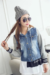 Ladies Short Sleeveless Denim Jackets Online | Ladies Short ...