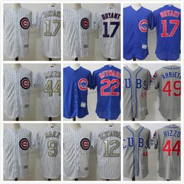 mens chicago cubs 17 kris bryant white jersey with 2016 world series patch cheap 9 baez
