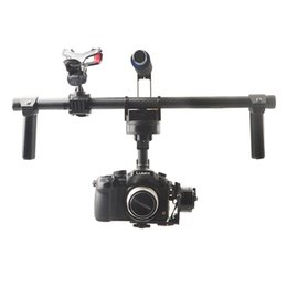 Discount camera mount gimbal - Wholesale-F16773 HG3D GH3 GH4 Nex 5N 5T 5R A5000 A6000 A7 Mini SLR FPV Brushless Handheld Gimbal DSLR Camera Mount Stabi
