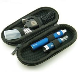 Evod kits casE online shopping - MT3 Starter Kits EVOD Atomizer mah mah mah EVOD Battery for E Cigarette Electronic Cigarette Cig Kit in Case Various Color DHL