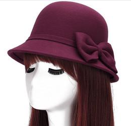 Big Floppy Beach Hat Women Canada - Wide brim wool felt sun fedora hat for  women a3eb46ee8ea