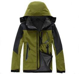 $enCountryForm.capitalKeyWord Australia - High quality Outdoor sports Hiking Jacket Men Windstopper Softshell Jacket Men Waterproof Outdoor jaqueta masculina Jacket camping coat