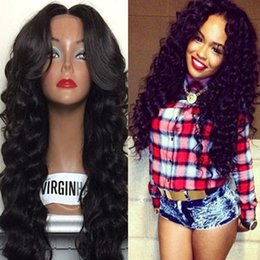 brazilian hair stocking NZ - 150 Density Brazilian Full Lace Wig Glueless Body Wave Full Lace Human Hair Wigs With Baby Hair For Black Women In Stock