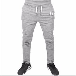 Pantalon D'entraînement Harem Pas Cher-Pantalons Hommes GASPGOLDS Sport Gym Casual coton élastique Hommes Fitness Workout Pantalons slim, Sweatpants Pantalons Jogger Pantalon en plein air