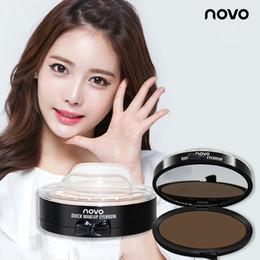 Eyes Makeup Brow Stamp Seal 2 Colors Eyebrow Powder Waterproof Grey Brown Eye With Stencils Brush Tools 3001098