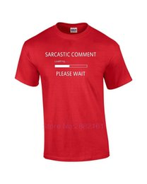Loaded Clothing Canada - Funny Sarcastic Comment Loading Please Wait Humor Novelty T-Shirt T-Shirt Men Clothing