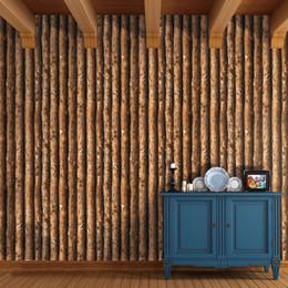 $enCountryForm.capitalKeyWord NZ - Antique original wood bark wallpaper Chinese-style clothing retro wallpaper backdrop television personality hotel corridor