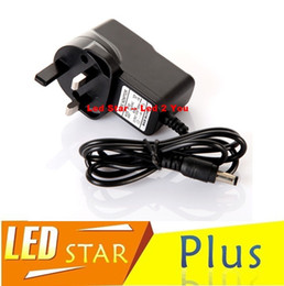 2018 emc ac led Led Strips Lights AC 100-240V to DC 12V 1A UK AU Plug AC DC Power Adapter Charger CCTV Power Supply Adapter discount emc