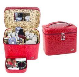 $enCountryForm.capitalKeyWord UK - 20*24*16cm European Princess Luxry Double Layers Jewelry Sets Sundries Cosmetics Jewellry Storage Organizer Box Case Bins Cabinets