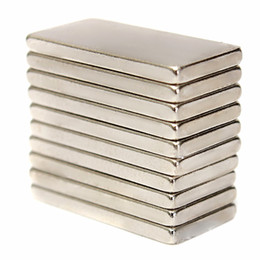 $enCountryForm.capitalKeyWord Canada - 10pcs N52 20x10x2mm Block Magnets Rare Earth Neodymium Magnets
