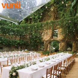 Discount commercial christmas lights 2018 commercial led wholesale 7m 24ft street garlands s14 string lights with 7 incandescent blubs outdoor weatherproof holiday commercial grade string lights commercial mozeypictures Gallery