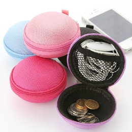 $enCountryForm.capitalKeyWord Canada - Wholesale useful colourful Earbuds SD Card Hold Case, Storage Carrying Hard Earphone Bag, Headphone Box