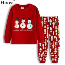da8480a215c6b 2017 Noël Bébé Garçon Pyjamas Vêtements Costumes Rouge X'MAS Enfants Cadeau Pyjama  Sleep Costume