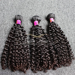 Weave hair extentions online shopping - 10 inch Human Hair Extentions Top Quality Malaysian Hair Grade A Natural Black Curly Hair Weft