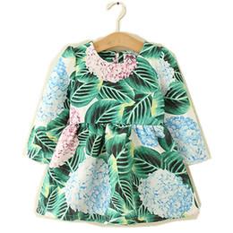 $enCountryForm.capitalKeyWord Australia - Kids Girl Dress Baby Girls Pineapple Print Dresses 2-6Year Infant Princess Full Sleeve Party Dress Costume 2018 Children Clothes B859-1