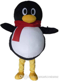 SX0723 With one mini fan inside the head a QQ mascot costume penguin for adult to wear for sale  sc 1 st  DHgate.com & Making Mascot Costume Head Online Shopping | Making Mascot Costume ...