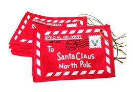 Творческие рождественские украшения продукты Рождество конверт конфеты подарочные пакеты подарочные карты коробка рождественские деньги карты держатель FP04