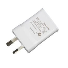genuine samsung charger 2019 - Genuine Quality Travel Charger For Samsung Galaxy Note3 N900 S5 w AU Plug 5.3V 2A Home Wall Adapter 200Pcs Lot DHL Free