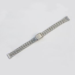 Stainless Watch Bracelet Canada - SILVER Stainless Steel Bracelet Watch Bands For Standard Watch 8 9 10 11 12 13 14mm