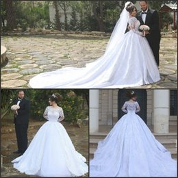 wedding dresses with cathedral length trains