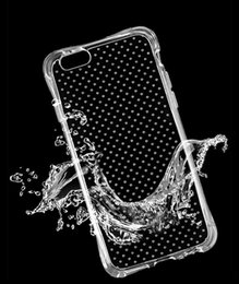 cell phone covers for samsung Canada - Transparent case Airbag Anti-shock TPU Soft Cases Transparent Cell Phone Covers For iPhone 6 6S Plus Samsung Galaxy A9 A7 A5 A3 J7 J5 J1 S7