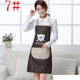 $enCountryForm.capitalKeyWord Australia - Hot Sales New Women Pinafore Aprons Kitchen Restaurant Cooking Cleaning Tool Cute rabbit Bear Pockets Aprons Home Textiles
