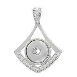 $enCountryForm.capitalKeyWord UK - 10 pcs clear crystal, eye shape snap pendant charms, fit for 18-22 mm snap jewelry gift for her
