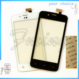 $enCountryForm.capitalKeyWord Australia - Wholesale- Brand Phone Touch Screen Panel Sensor For FLY IQ440 Energie IQ 440 Touchscreen Digitizer SmartPhone Front Glass Replacement+tape