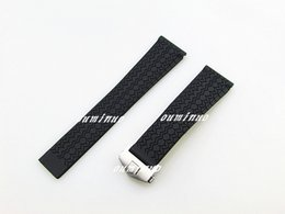 $enCountryForm.capitalKeyWord NZ - 22mm New Top grade Thin Black Diving Silicone Rubber Watch Band Strap For TAG Heuer Watch