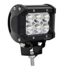 1 Stück Hohe Intensität 12V 24V DC Automobile 4inch 18w Wasserdicht IP67 Offroad LED Lichtleiste im Angebot