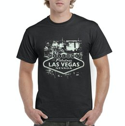 ce9c03623 T-shirt de musique graphique Bienvenue au T-shirt des hommes de Las Vegas  Nevada TeeStretch T-shirts personnalisés Aucun minimum