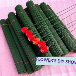 Make Stocking Canada - Free shipping 100 pieces lot 2 # nylon stocking flower stems lower making stems nylon flower accessory