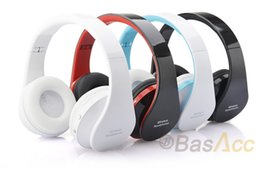 headset ipad NZ - Wireless Bluetooth Headphone Foldable Stereo 4.0 Headset Handsfree Headband Music Player for iPhone iPad iPod Samsung