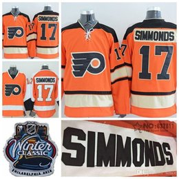 613387f7 ... Cheap Philadelphia Flyers Wayne Simmonds Hockey Jerseys Home Orange  Winter Classic 17 Wayne ...