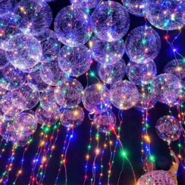 Glow Party Decorations Australia - 18inch LED Light Up Balloons Flashing Latex Party Balloon Glow Balloons for Parties Birthdays and Wedding Decorations CCA7744 200pcs