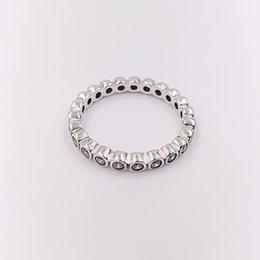8f8f52f74 14k gold bands online shopping - Authentic Sterling Silver Rings Alluring  Brilliant Ring Fits European Pandora