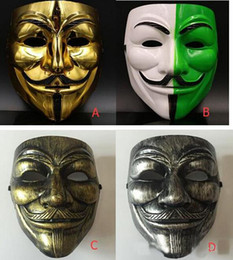 $enCountryForm.capitalKeyWord Canada - Halloween Plastic Mask for Adult Fashion V- Vendetta Mask Decorative Props Full Face Cosplay Party Ball Costume