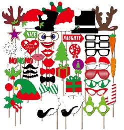 $enCountryForm.capitalKeyWord Canada - 1set 50pcs Christmas party Photo Props Moustache Hat Small Eyes Paper Beard Wedding Party Supplies Bachelorette Party Photo Booth hot