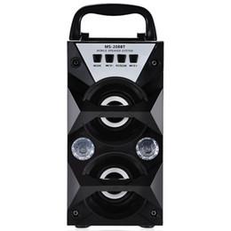 El más nuevo Redmaine MS-208BT Altavoz portátil Salida de alta potencia Radio FM Altavoz inalámbrico Bluetooth