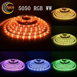 Color changing led rope light wholesale suppliers best color 164ft 60 led m strip lights smd5050 rgb and warm white mixed color changing flexible led light strip rope ribbon light supplier color changing led rope mozeypictures Gallery