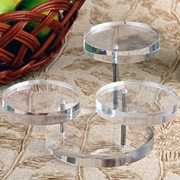 $enCountryForm.capitalKeyWord Australia - Drop Shipping 2pcs 50-70mm Movable 3 Layers Clear Pendants Rings Display Stand,Showcase Counter Fashion Jewelry Stand Useful Display items